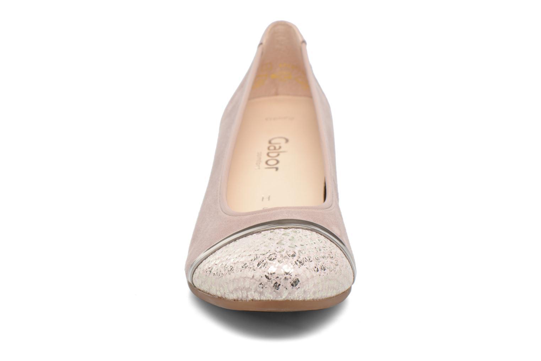 Escarpins Gabor Palma 3 Beige vue portées chaussures