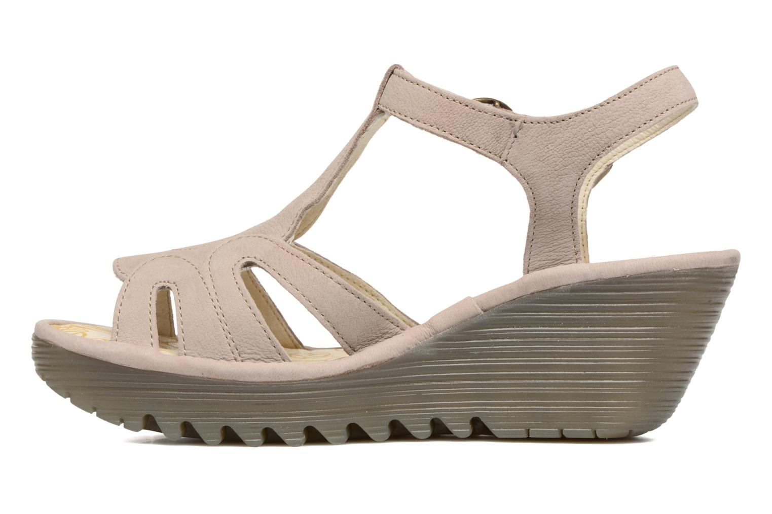 Sandalen Fly London Yini 727 Beige voorkant