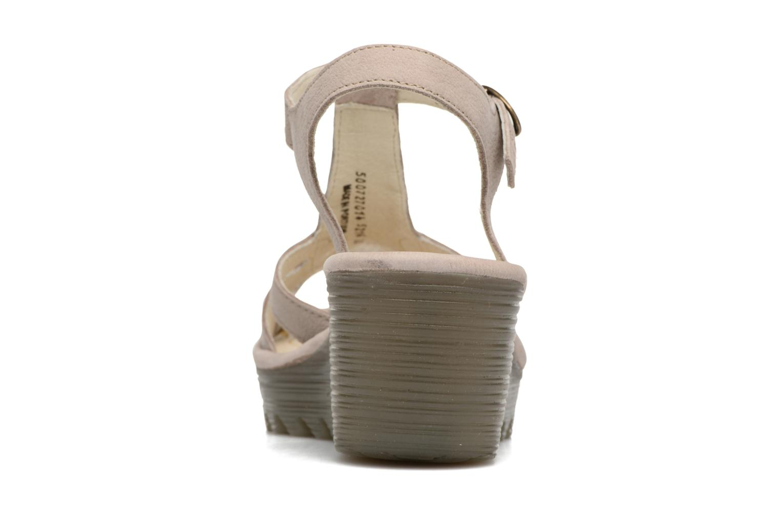 Sandalen Fly London Yini 727 Beige rechts