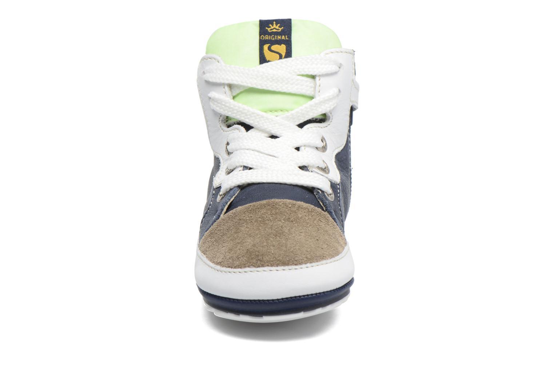 Baskets Shoesme Seppo Bleu vue portées chaussures