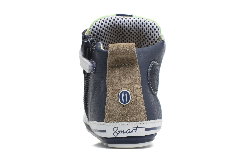 Baskets Shoesme Seppo Bleu vue droite