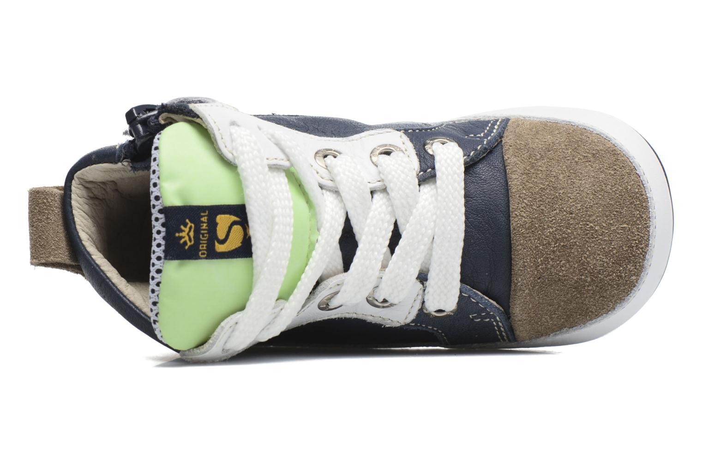 Baskets Shoesme Seppo Bleu vue gauche