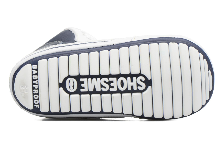 Baskets Shoesme Seppo Bleu vue haut