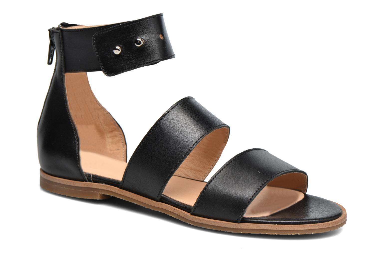 Sandales et nu-pieds Yep Martine Noir vue détail/paire