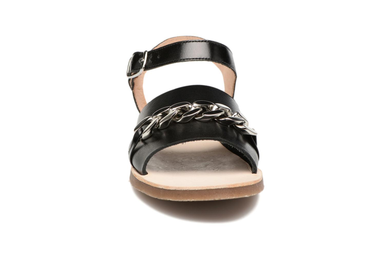 Sandales et nu-pieds Yep Mael Noir vue portées chaussures