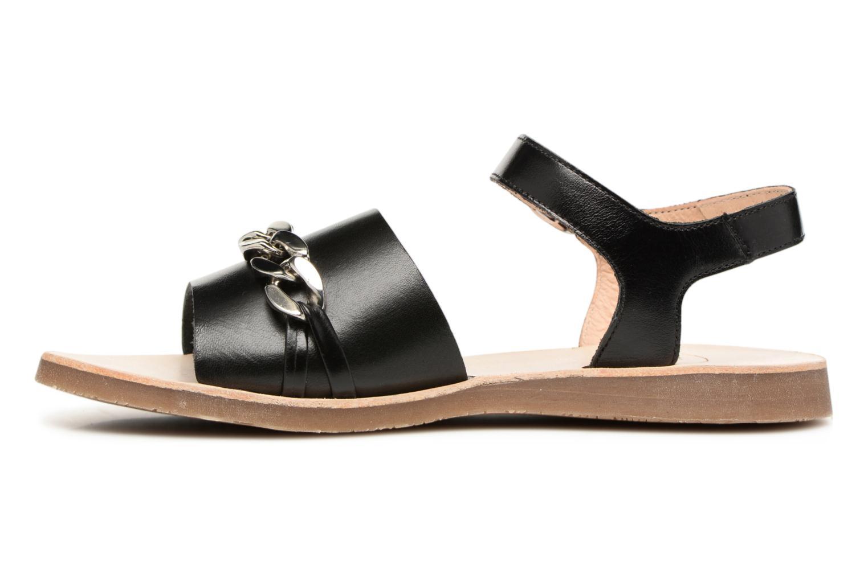 Sandales et nu-pieds Yep Mael Noir vue face