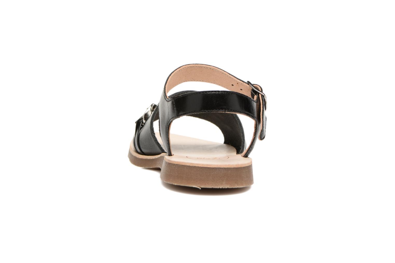 Sandales et nu-pieds Yep Mael Noir vue droite