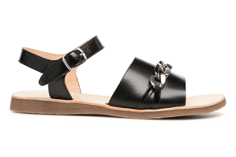 Sandales et nu-pieds Yep Mael Noir vue derrière