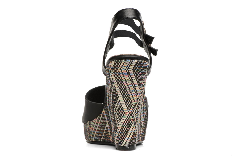 Sandales et nu-pieds Kaporal Rosana Noir vue droite