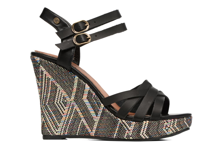 Sandales et nu-pieds Kaporal Rosana Noir vue derrière