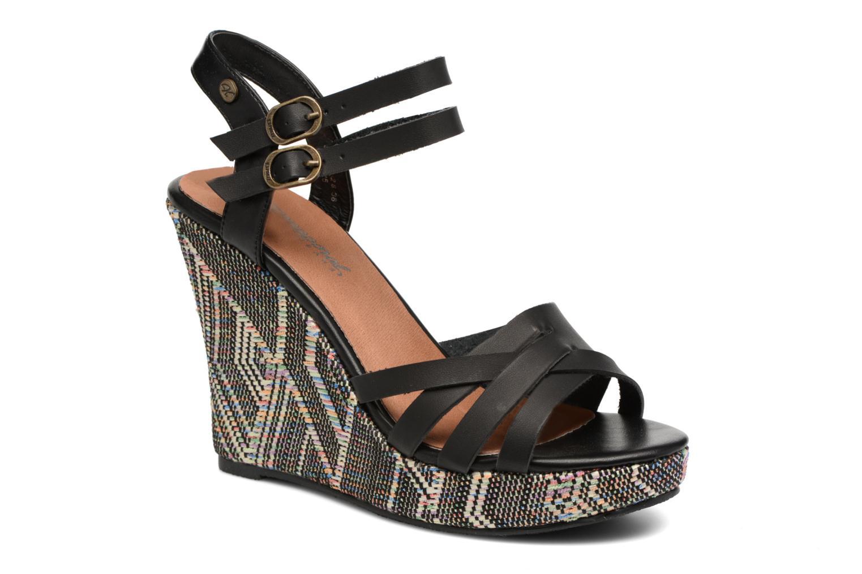 Sandales et nu-pieds Kaporal Rosana Noir vue détail/paire