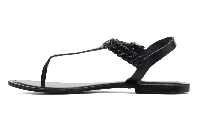 Sandales et nu-pieds Kaporal Ely Noir vue face