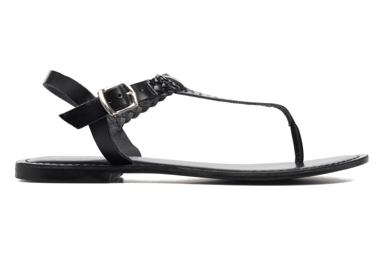 Sandales et nu-pieds Kaporal Ely Noir vue derrière