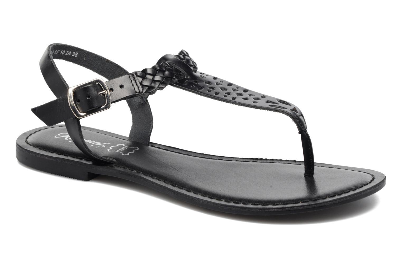Sandales et nu-pieds Kaporal Ely Noir vue détail/paire