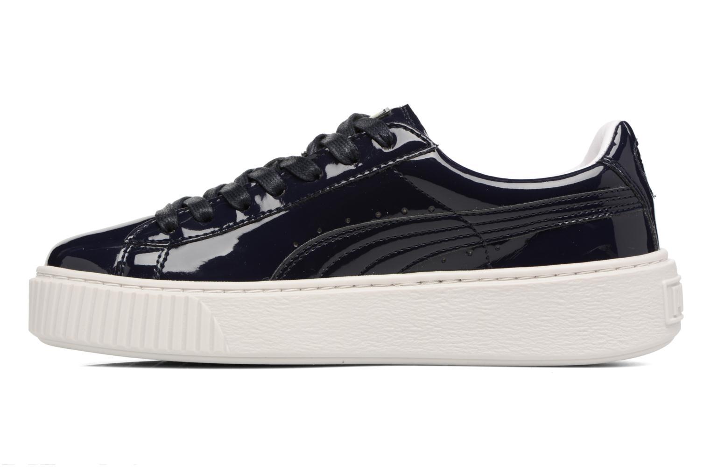 Zapatos promocionales Puma Wns Basket Platform Patent (Azul) - Deportivas   Los zapatos más populares para hombres y mujeres