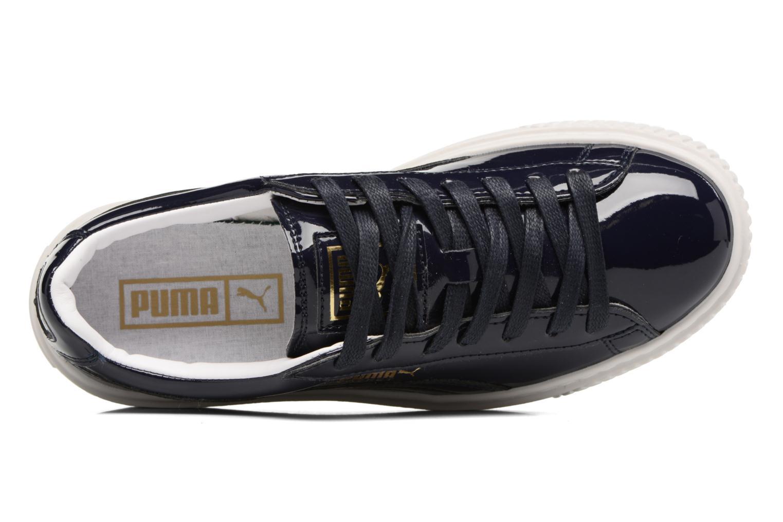 Puma Wns Basket Platform Patent Blauw Echt Goedkoop Online groothandelsprijs Verkoop Betaalbare Prijzen Online Te Koop UOncmqEaEX