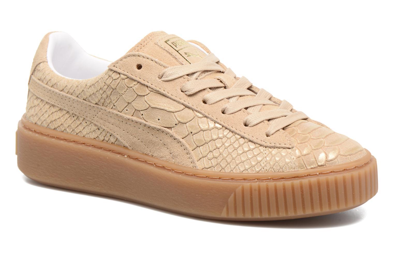 Zapatos de mujer baratos zapatos de mujer Puma Wns Platform Exotic (Beige) - Deportivas en Más cómodo