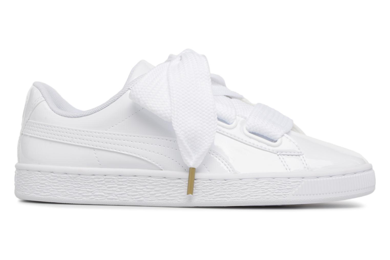 Sneaker Puma Basket Heart Patent Wn's weiß ansicht von hinten