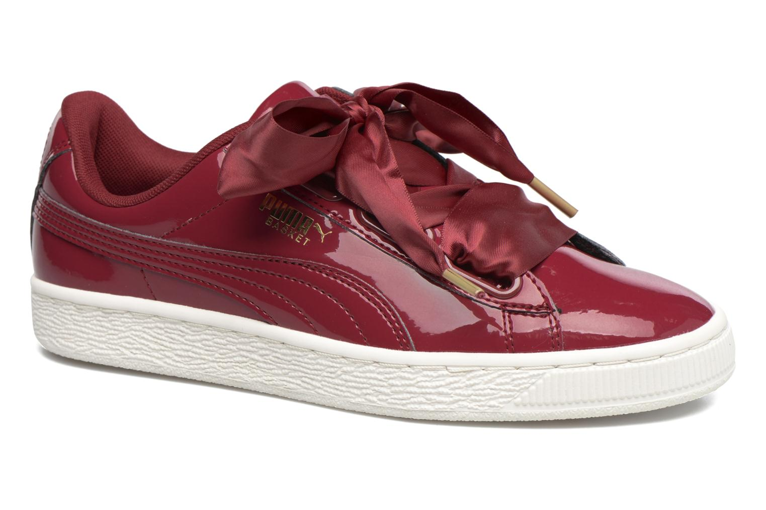 scarpe puma basket bordo