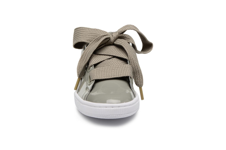 Zapatos promocionales Puma Basket Heart Patent Wn's (Gris) - Deportivas   Descuento de la marca