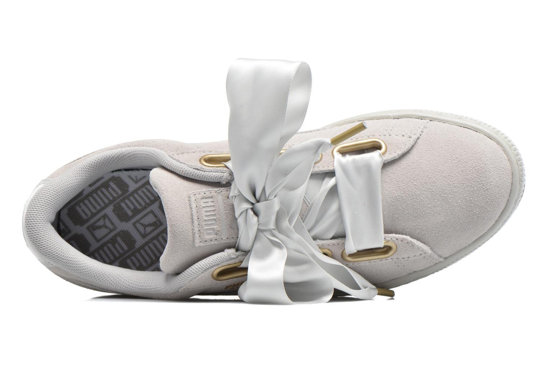 Zapatos promocionales Puma Suede Heart Satin Wn's (Gris) - Deportivas   Casual salvaje