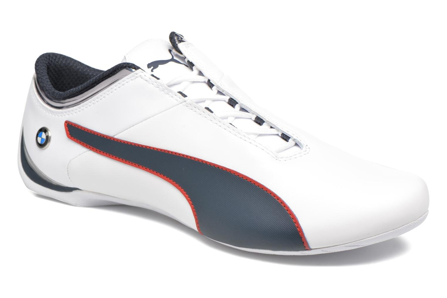 Baskets Puma BMW MS Future Cat MU Blanc vue détail/paire