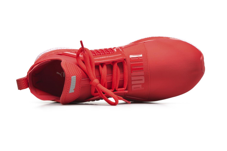 Baskets Puma Ignite Limitless Snow Splatter Rouge vue gauche