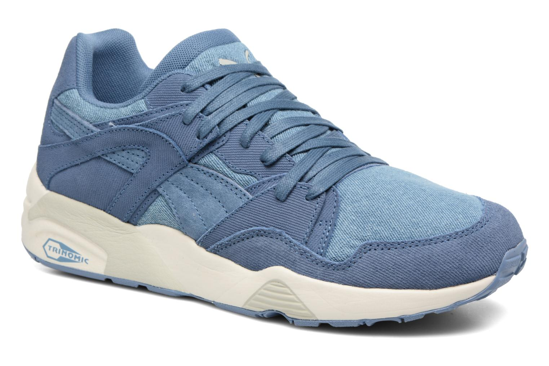 Puma Blaze Denim (Bleu) - Baskets chez Sarenza (290077)
