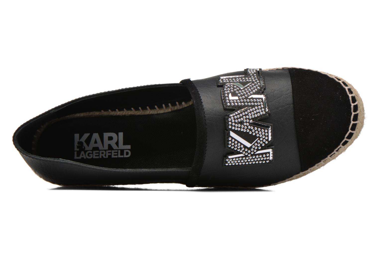 Espadrilles Karl Lagerfeld Rocky Espadrille Noir vue gauche