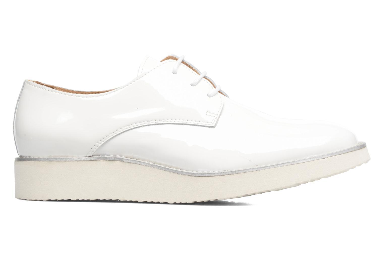 Chaussures à lacets Made by SARENZA Vegas Lipstick #10 Blanc vue détail/paire