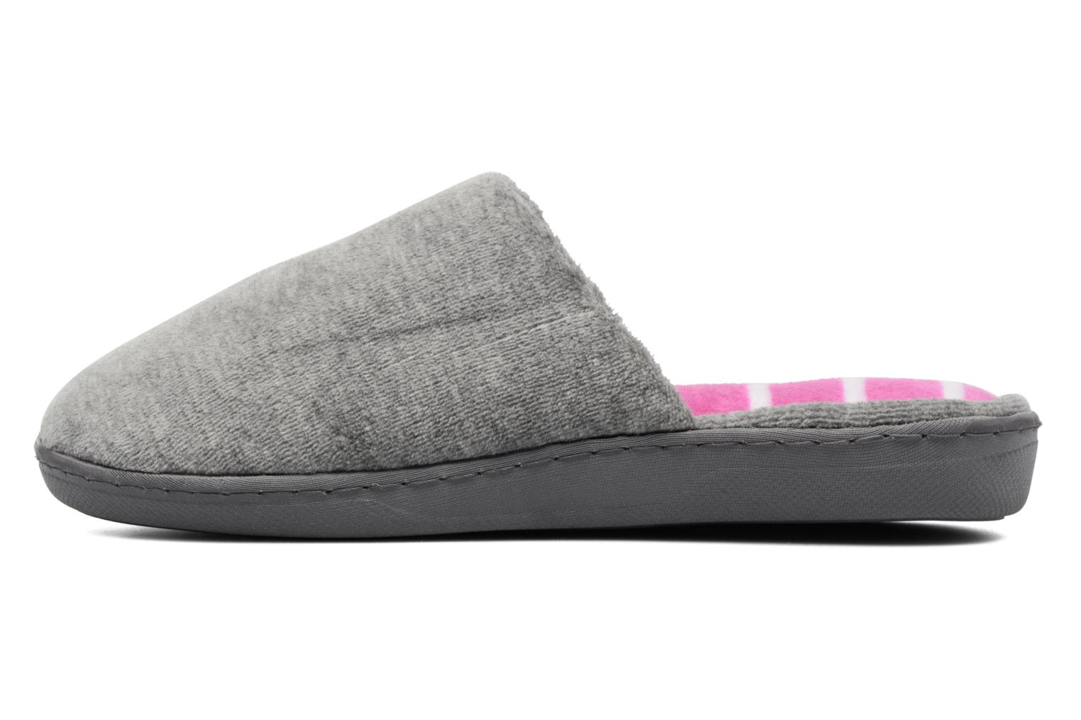 Slippers Dim D Inola Grey front view