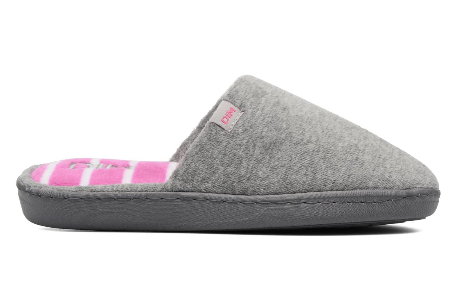 Slippers Dim D Inola Grey back view