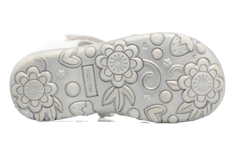 Primrose White/Silver leather