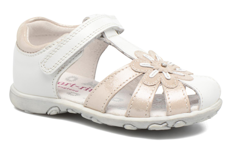 Sandales et nu-pieds Start Rite Primrose Blanc vue détail/paire