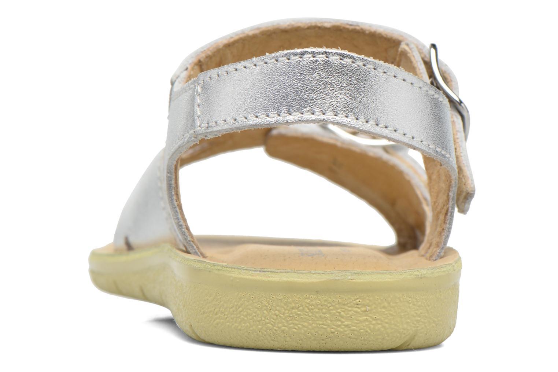 Sandales et nu-pieds Start Rite SR Soft Harper Argent vue droite