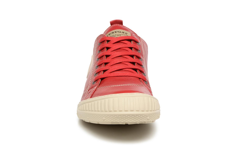 Baskets Pataugas Rock/N M Rouge vue portées chaussures