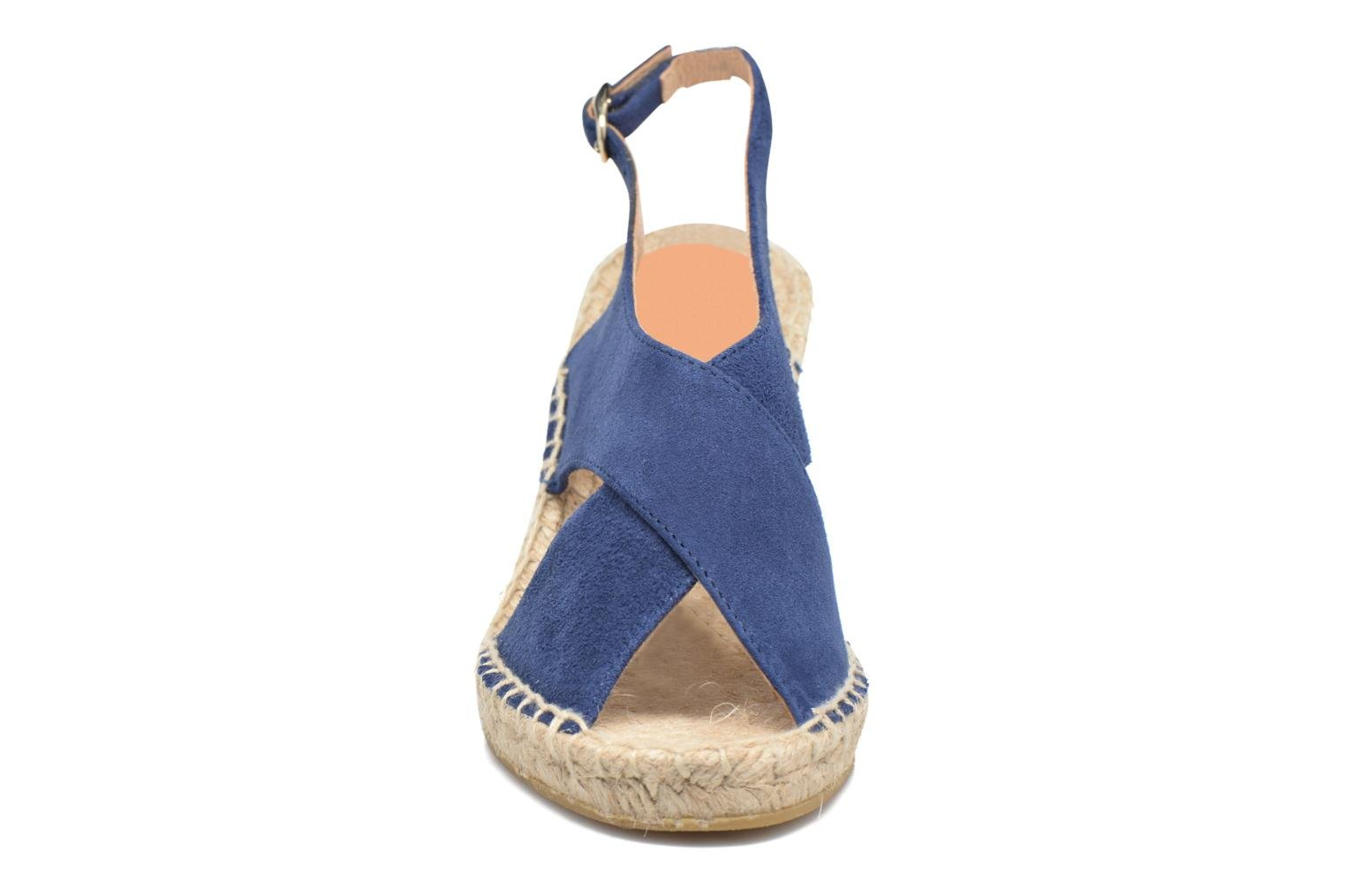 Espadrilles Georgia Rose Dacroi Blue model view