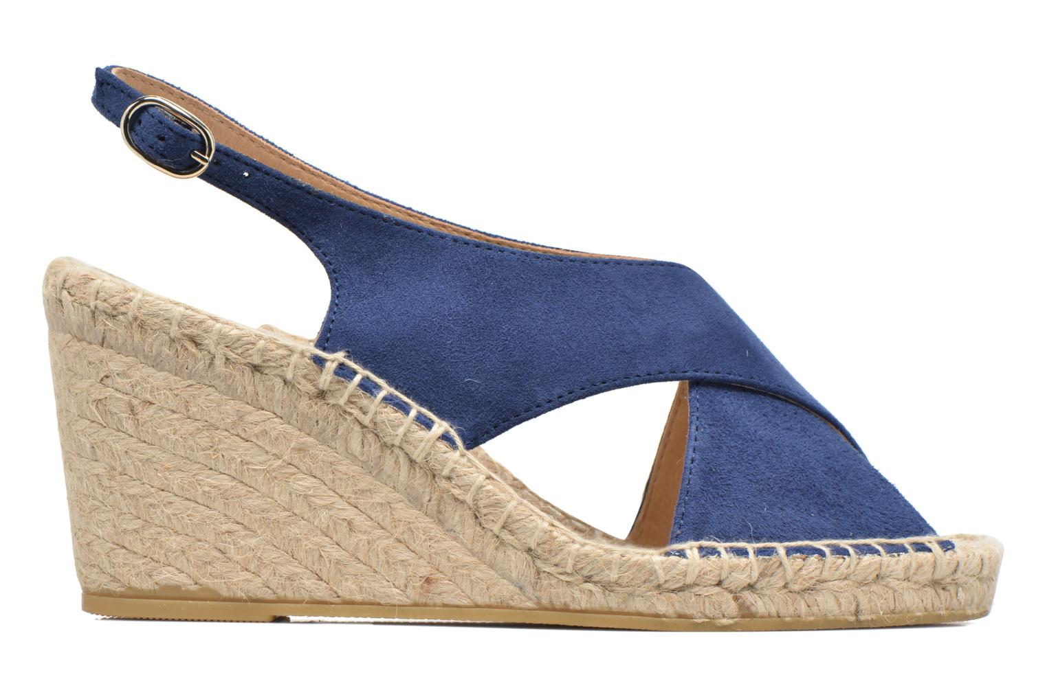 Espadrilles Georgia Rose Dacroi Blue back view