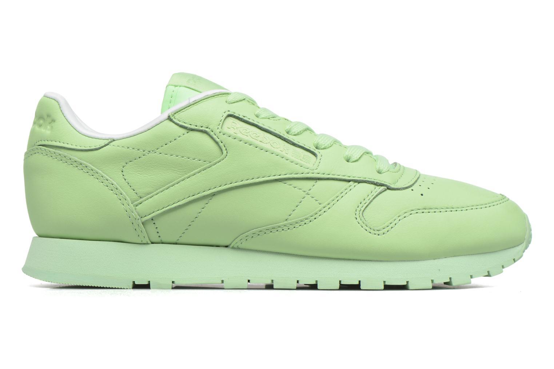 Cl Lthr Pastels Mint Green/White
