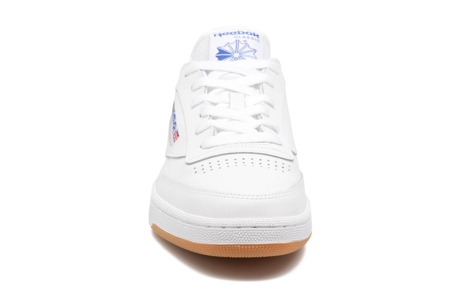 Club C 85 Int-White/Royal-Gum