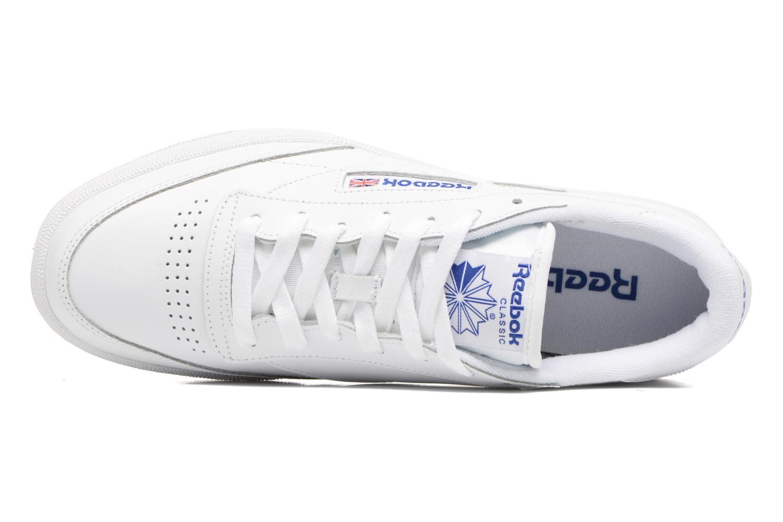 Baskets Reebok Club C 85 Blanc vue gauche