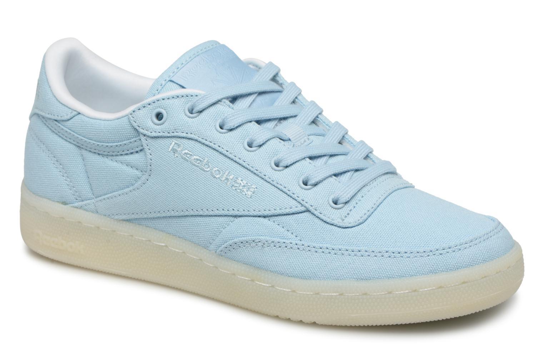 Zapatos promocionales Reebok Club C 85 Canvas (Azul) - Deportivas   Zapatos casuales salvajes
