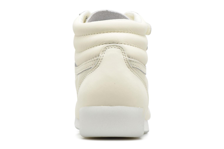 Baskets Reebok F/S Hi Face 35 Blanc vue derrière