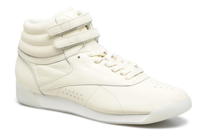 Baskets Reebok F/S Hi Face 35 Blanc vue détail/paire