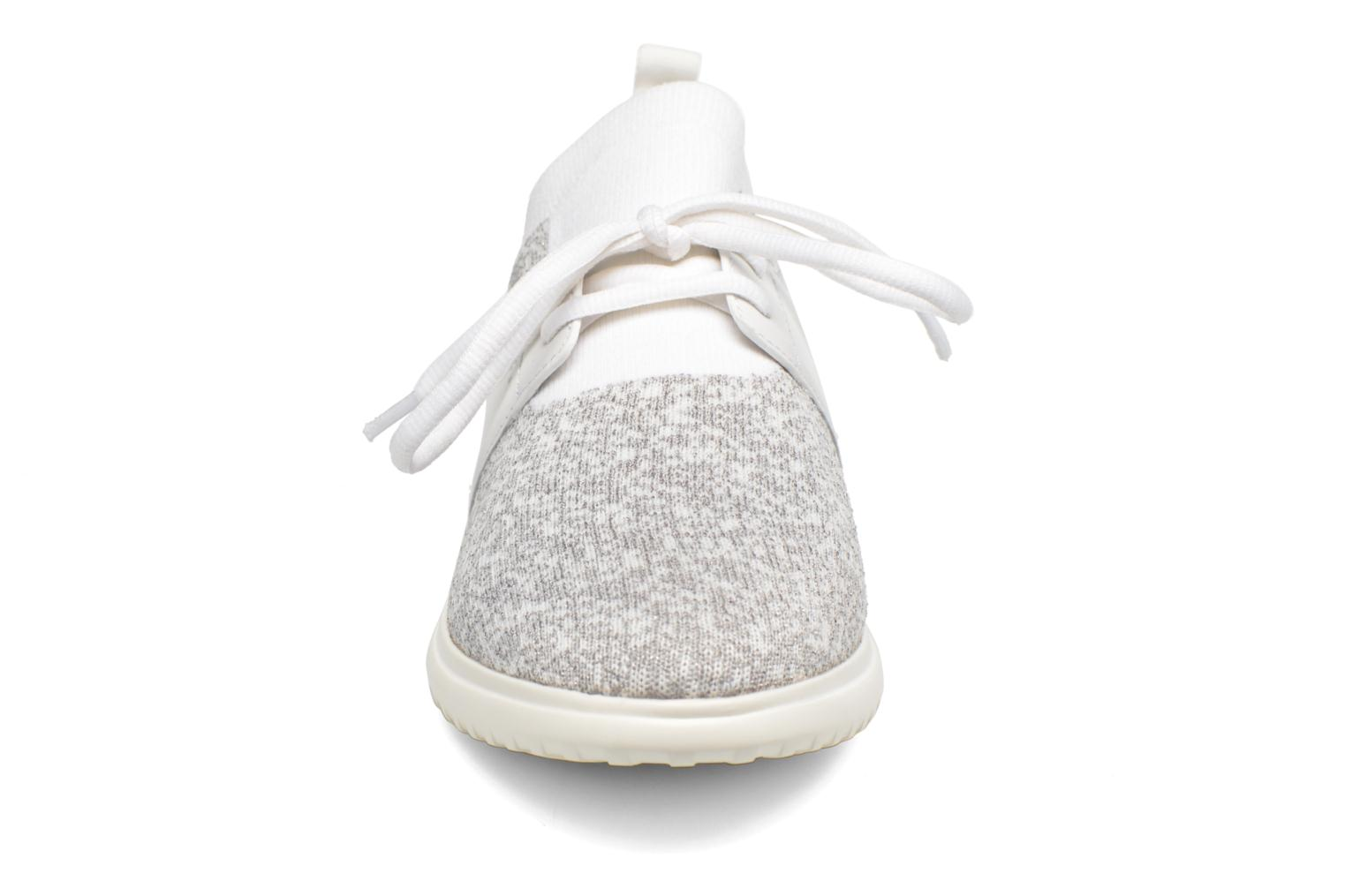Baskets What For Daisy Blanc vue portées chaussures