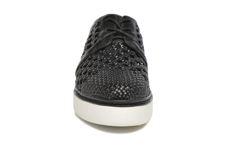 Chaussures à lacets What For Pansy Noir vue portées chaussures