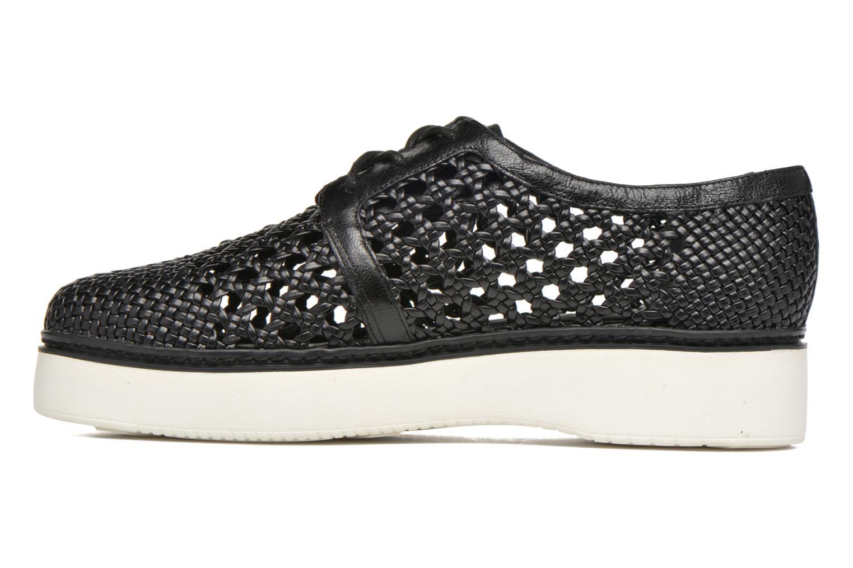 Chaussures à lacets What For Pansy Noir vue face