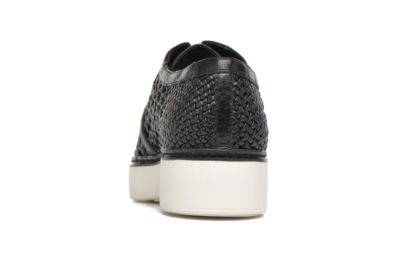 Chaussures à lacets What For Pansy Noir vue droite