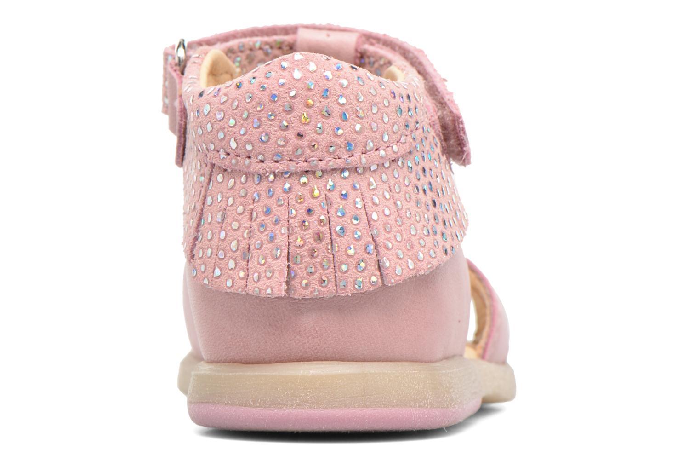 Sandales et nu-pieds Babybotte Tchipi Rose vue droite