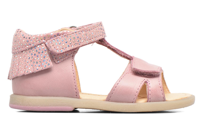 Sandales et nu-pieds Babybotte Tchipi Rose vue derrière